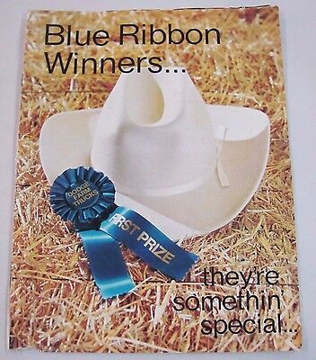Vintage 1968 DODGE Farm Trucks Blue Ribbon Winners Promo 4Page Flyer Sweepstakes