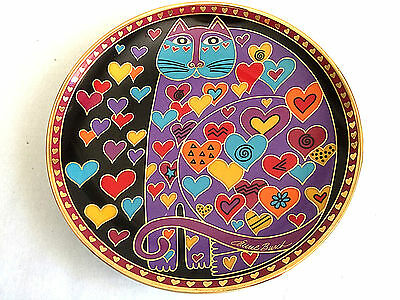 """""""Queen Of Hearts"""" 8 inch Plate  By LAUREL BURCH  1996 Franklin Mint"""