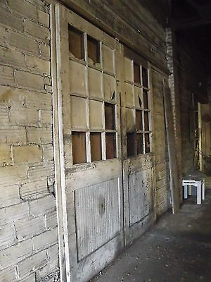 Vintage Sliding Barn Doors - from 1920's and 1930's
