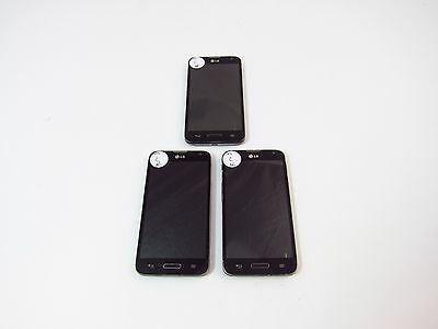 Lot of 3 LG Optimus L70 (MS323) (Metro PCS) (Check ESN)_C12