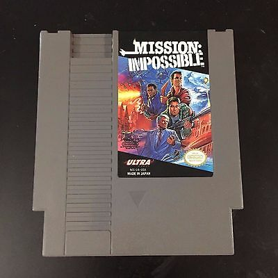 ***Mission Impossible Nes Nintendo Game***