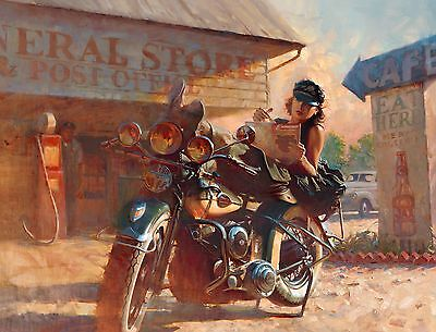 "Direct from the Artist - ""The Enthusiast"" limited  paper print by David Uhl"