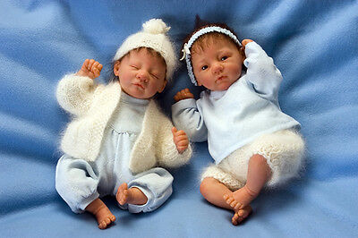 """Tomthumb And Founding By Linde Scherer Mini Doll Kits @12-13""""@"""