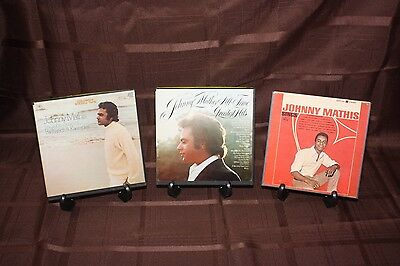 Reel to Reel 4-Track Tape 3 Johnny Mathis Tape Lot