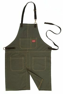 NEW McGuire Nicholas M71 SPLIT LEG APRON w/ 4 Pockets (Army Green) FREE SHIPPING