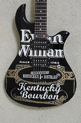 Evan Williams Bourbon B.C. Rich Eagle 1 Guitar USED AS DISPLAY ONLY