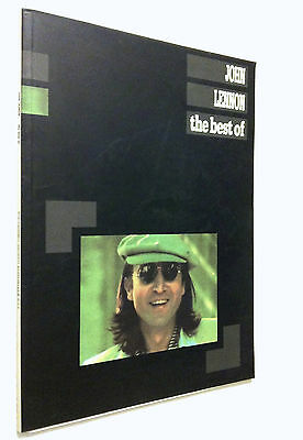 John Lennon_ Libro spartiti_The best of_Carisch_Allegato testi canzoni_Beatles