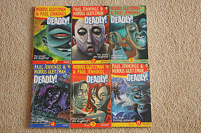 Paul Jennings Deadly Series Set of 6 Books