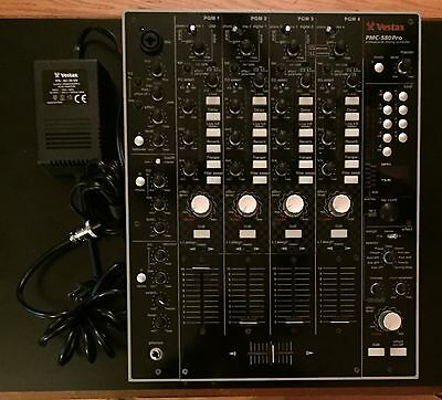 Vestax PMC-580 Pro Professional 4-Channel Digital DJ Mixer With Multi-Effects