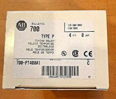 NEW Allen Bradley 700-PT400A1 Timing Relay
