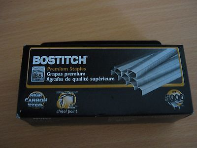2 x Box of Bostitch 3/8 9mm Staples B8 5000/Box STCR21153/8 STCR2115 free post