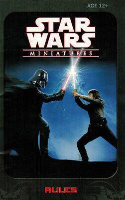 Star Wars Miniature Revenge of the Sith set Rule Book