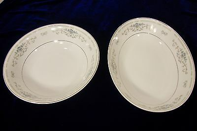 Diane - Fine Porcelain China Round and Oval Vegetable Bowls
