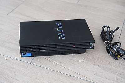 Playstation 2 PS2 Console, w/ Cables and genuine Sony memory card.