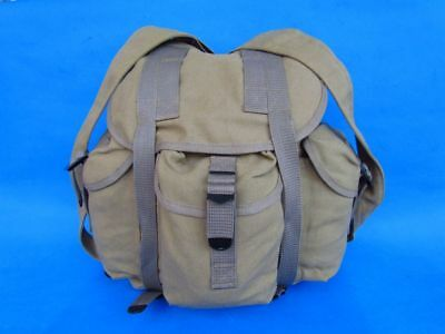 Wwii Usa Army Military Haversack Canvas Backpack Us Soldier Bag