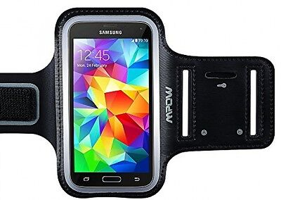 Samsung Galaxy S7 S6 S5 Armband, (with Reflective Strap + Key Holder) Mpow For