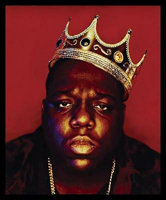 Notorious B.I.G Biggie Smalls Tupac Shakur Hip Hop Art Silk Poster 68x100cm 003