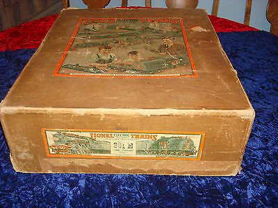 1930's Lionel 361E  Brown 318 Freight set box only!