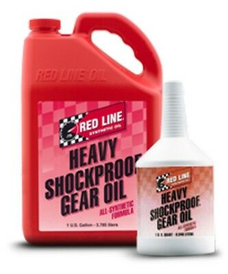Red Line Heavy ShockProof Gear Oil - 1 Quart
