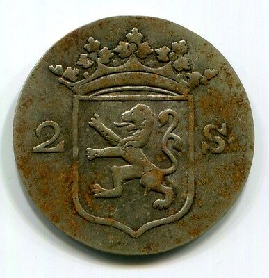 Dutch East Indies - c1834-6 Singapore Merchant Token