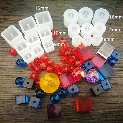 DIY Silicone Pendant Mold Making Jewelry Ornament Resin Casting Mould Craft Tool