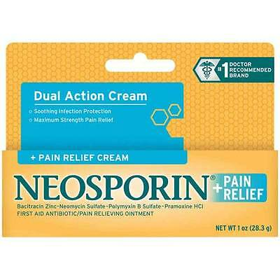 Neosporin Neosporin plus Pain Relief Cream Plus Pain Relief 1 Oz Peg -- 24 per
