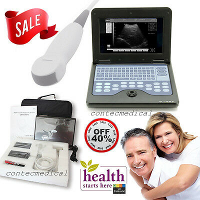 Portable Laptop Machine Digital Ultrasound Scanner with Cardiac Probe Heart Exam