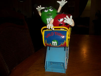 M&M red and green wild thing dispenser