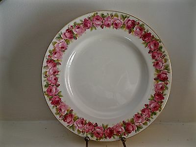 Royal Doulton Roses Raby Rose D5533 Entree Salad Plates 9 available