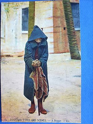 egypte,types and scenes  ,a beggar