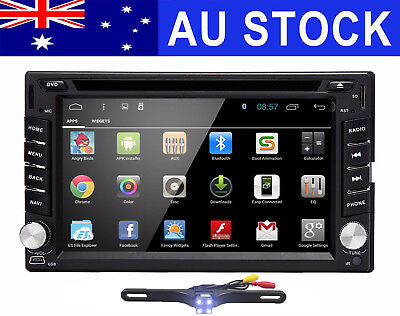 Quad Core Android 6.0 3G WIFI Double 2DIN Car Radio Stereo DVD Player GPS Navi