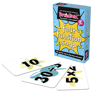 Children's Four Function Snap and Pairs Card Game - Numeracy Maths Resource g10