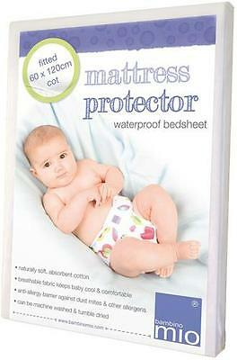 Bambino Mio Fitted Mattress Protector - Cot