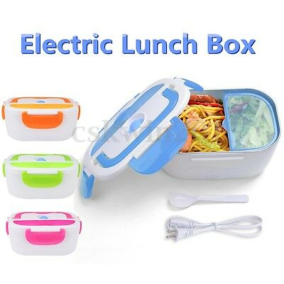 1.5L Portable Car Plug Electric Heating Lunch Box Food Storage Container Heater