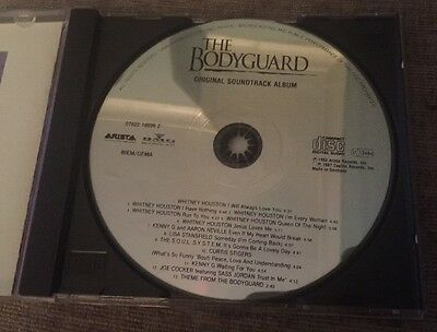 Whitney Houston Hand Signed CD - Bodyguard - Great Gift