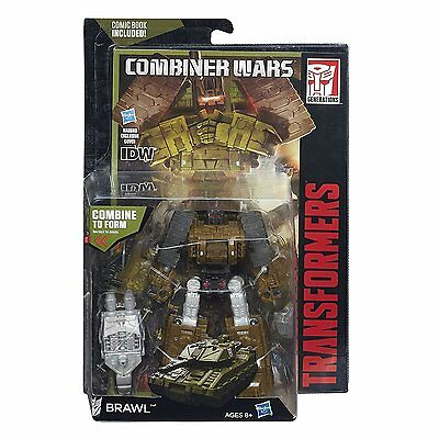 Transformers Generations Combiner Wars Deluxe Brawl Action Figure New Sealed