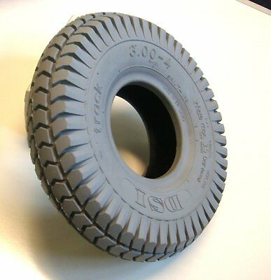 260x85 3.00-4 Grey Block Mobility Scooter Tyre Slightly Marked