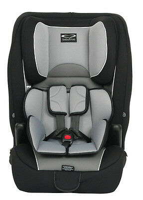Baby Love Ezy Grow Harnessed Seat Silver Grey