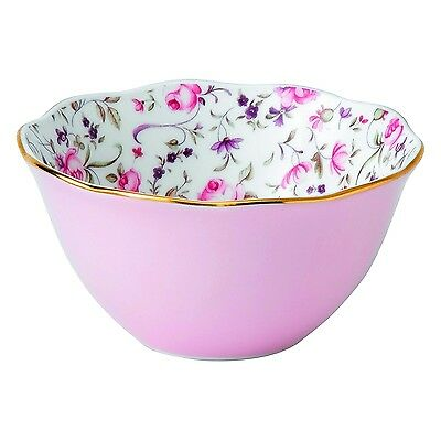 "Royal Albert 4"" Bowl, Rose Confetti"