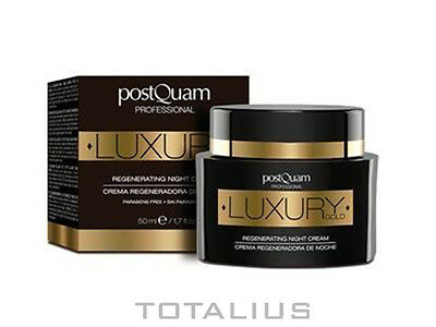 CREMA DE NOCHE LUXURY GOLD  TARRO 50 ml - POSTQUAM