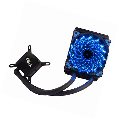 upHere Technology All-In-One Liquid CPU Cooler with Adjustable 120mm PWM Fan