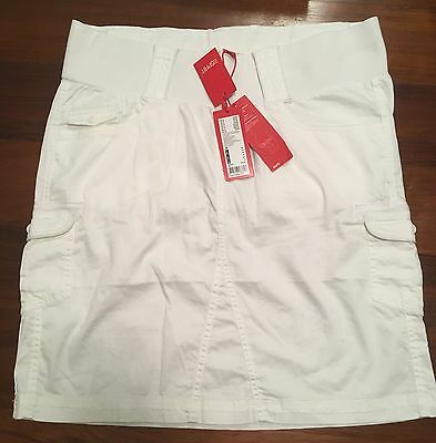 White Maternity Skirt by Esprit - Brand new with Tags - Purchased in England