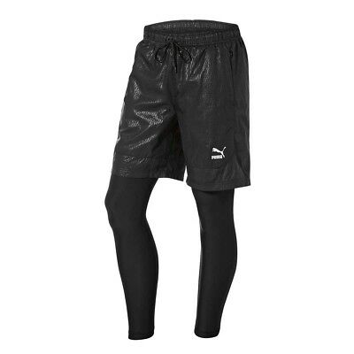 NEW Puma Men's Evo Layered Tights   from Rebel Sport
