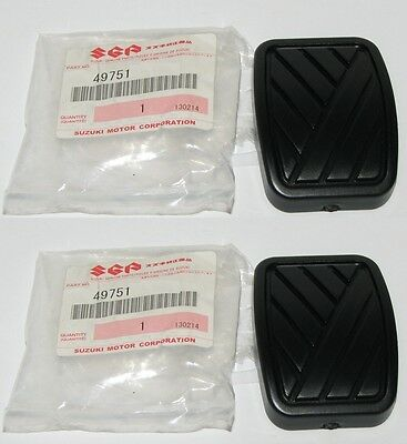 Brake and Clutch Pedal Rubber Pad for Suzuki Cars (2 pcs)