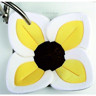 Yellow Blooming Bath Lotus Brand New Way To Wash Baby Super Soft Boy Girl Gift