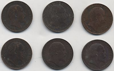 Selection Of Edward VII Farthings***Collectors***(E7F)