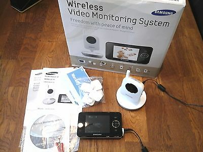 "Quality Samsung 3030Wp Wireless Video Baby Monitors Camera With 3.5"" Lcd Screen"