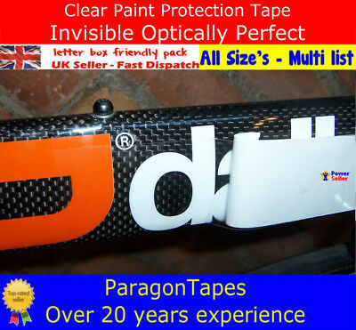 3m x 50mm Helicopter Bike Frame Protection Tape Heli-pads Shield optically clear