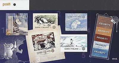 Finland 2017 MNH Booklet of Stamps (5) - Moomin Time Travel -  New Moomin Museum