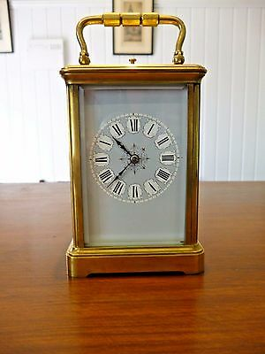Antique French striking repeater carriage clock c.1860s